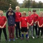Frosterley School wins football festival